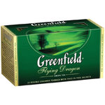 "Tee ""Greenfield"" grьn Flighing Dragon 25Btl."